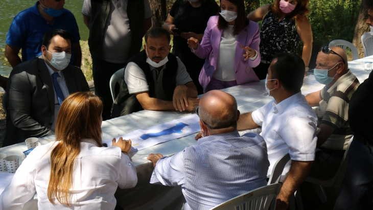 They came together for Bozcaarmut Pond Conservation and Rehabilitation Project